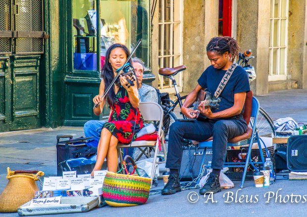 Street musicians, New Orleans, Louisiana, MG_9708