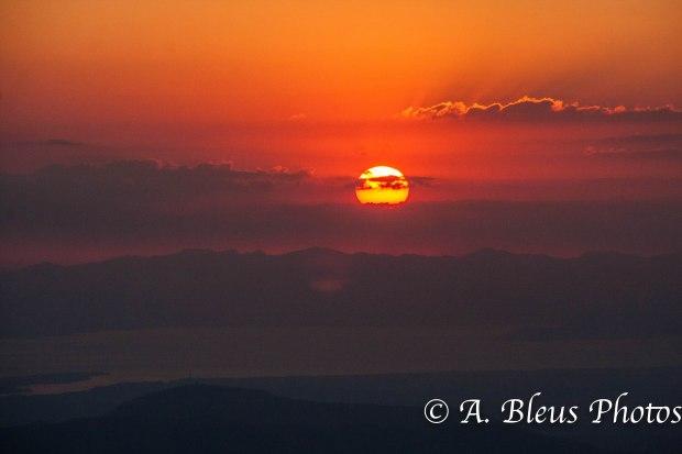 Sunset in San Ramon, Costa Rica_