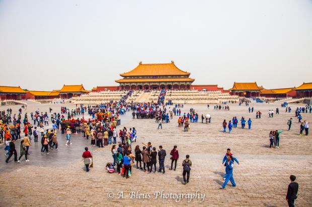 Courtyard Forbidden City, Beijing