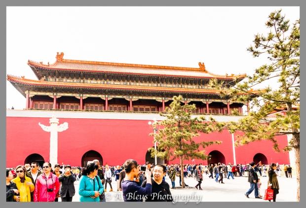 Mausoleum of Mao Zedong, rear Façade Beijing