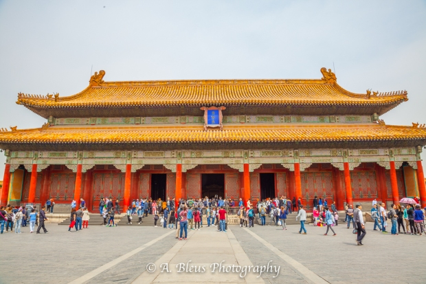 More Wooden Structures- Forbidden City, Beijing-3