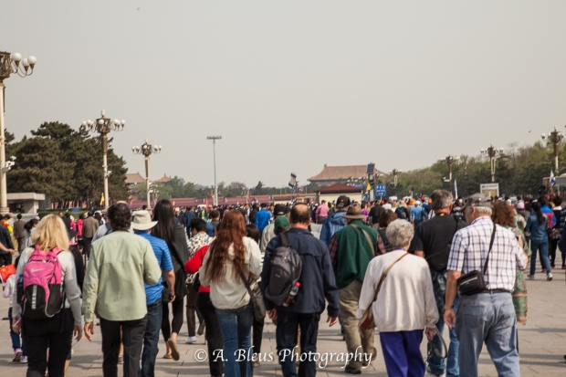 Tiananmen Square, Beijing and its visitors-2
