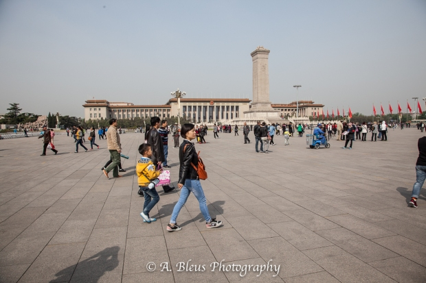 Tiananmen Square, Beijing and its visitors-3