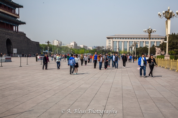 Tiananmen Square, Beijing and its visitors