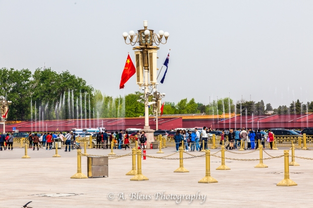Tiananmen Square Water Fountain, Beijing_