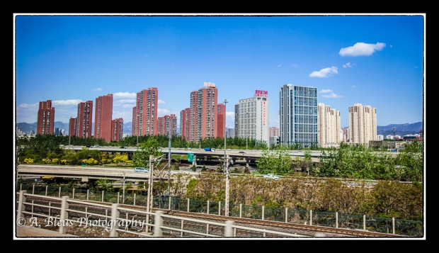 A City in China - Apartment Buildings