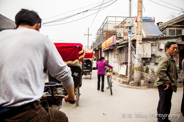 Rickshaw ride, Beijing-2