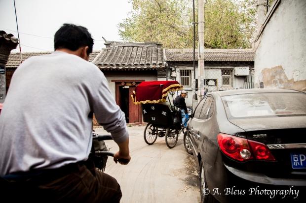Rickshaw ride, Beijing