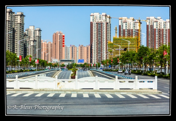 A view of the city of Xian, China-2