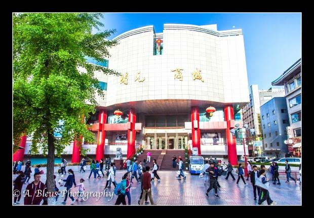 Bustling Town, Xian