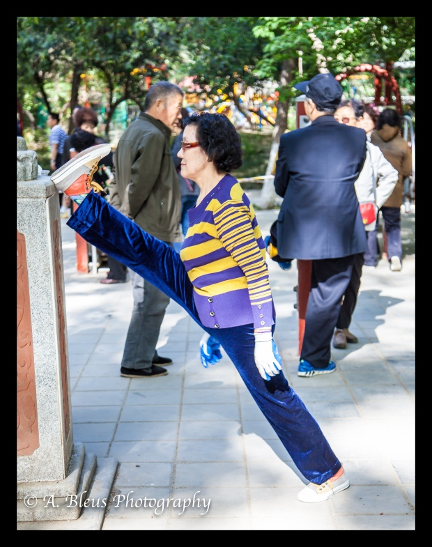 Daily Exercise at Xingqing Park, Xian-3