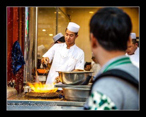 Muslim Quarter, Chinese-Muslim Cooks, Xian