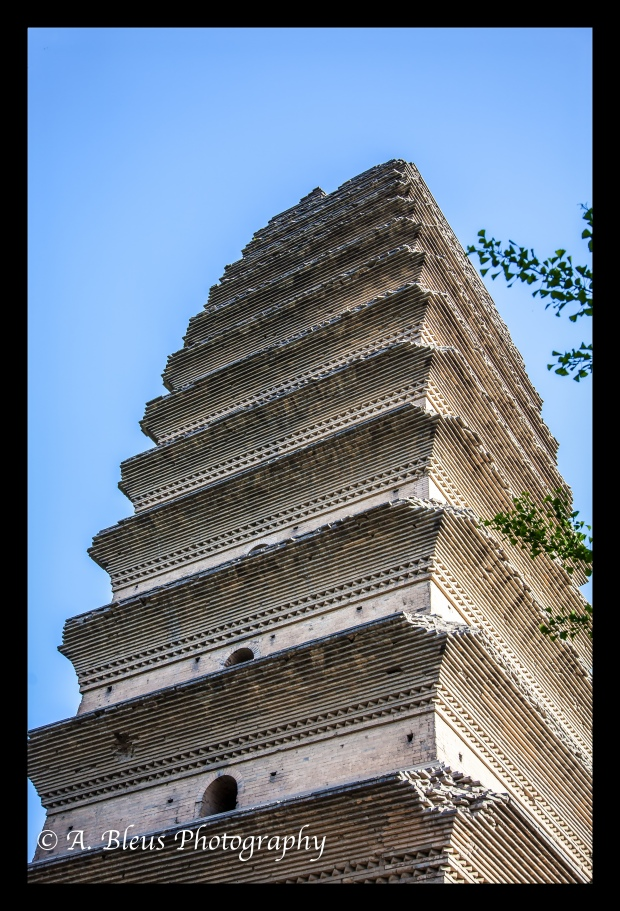Small Wild Goose Pagoda, Xian, China-2