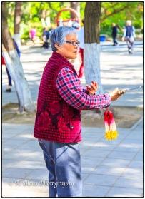 Tai Chi Soloist at Xingqing Park, Xian