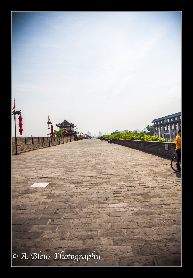 View from inside Xian City Wall-2