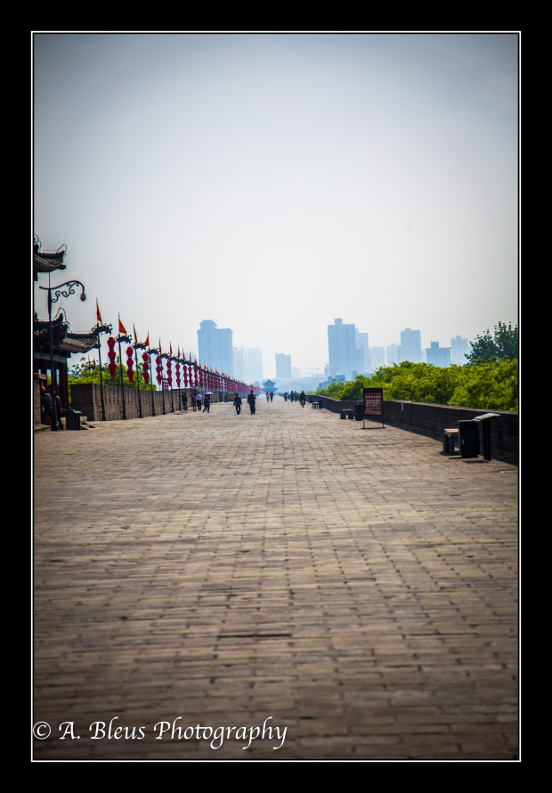 View from inside Xian City Wall-3
