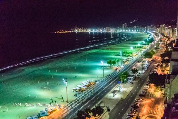 Copacabana Beach at night, Rio de Janeiro MG_8381