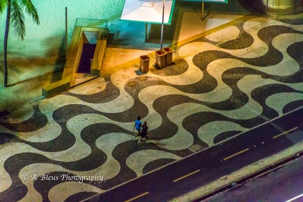 Copacabana Beach Promenade Pavement, Rio MG_8398