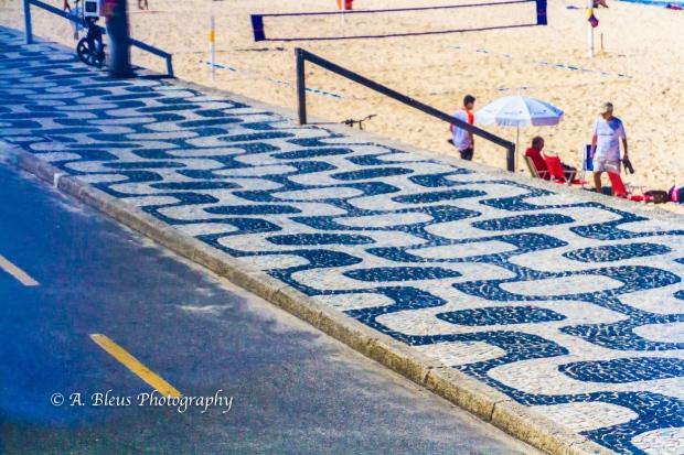 Ipanema Beach Promenade Pavement, Rio MG_8847