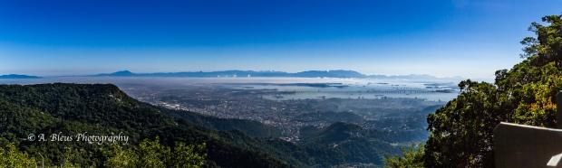 Panoramic view of the city of Rio de Janeiro MG_8548