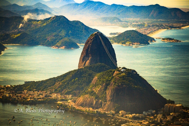 Sugarloaf Mountain view from the Corcovado Mountain, Rio MG_8614