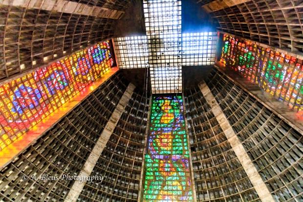 The Inside - Rio de Janeiro Cathedral MG_9186-3