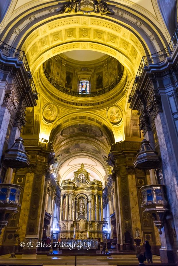 Buenos Aires Metropolitan Cathedral Interior, Argentina MG_9955