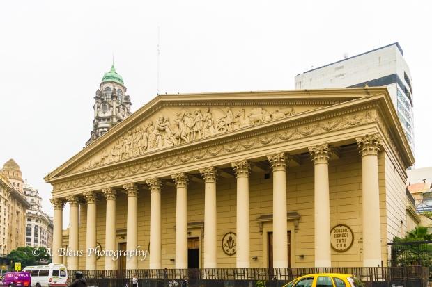 Buenos Aires Metropolitan Cathedral Main Façade Argentina MG_9950-2