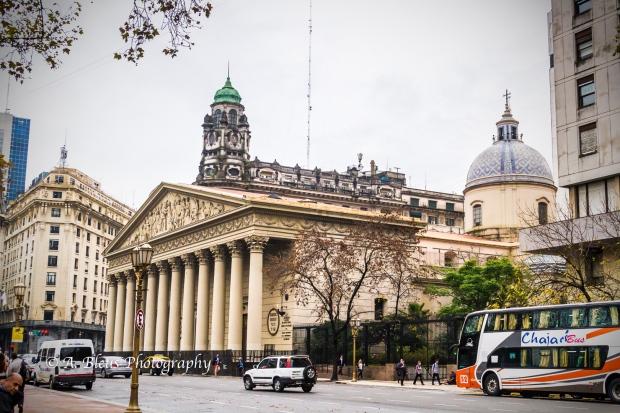 Buenos Aires Metropolitan Cathedral Main Façade Argentina MG_9950