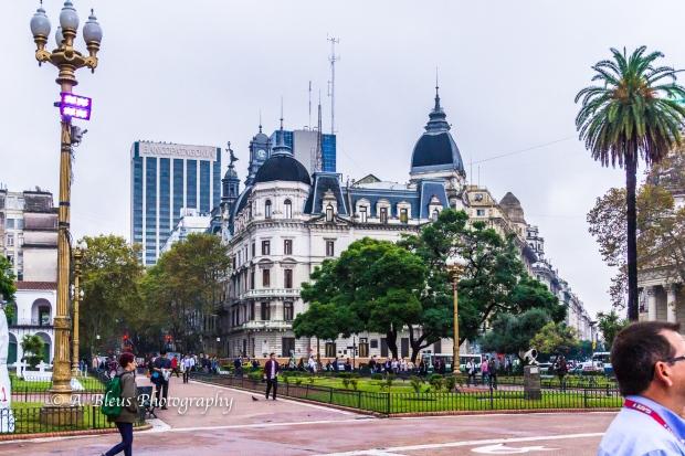 Buidings Façade on Plaza de Mayo, Argentina MG_9962-1