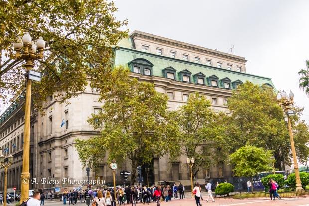 Buidings Façade on Plaza de Mayo, Argentina MG_9962-4