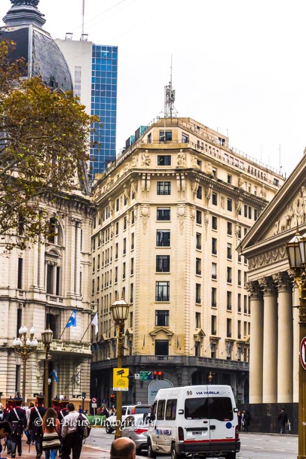 Buidings Façade on Plaza de Mayo, Argentina MG_9962-6