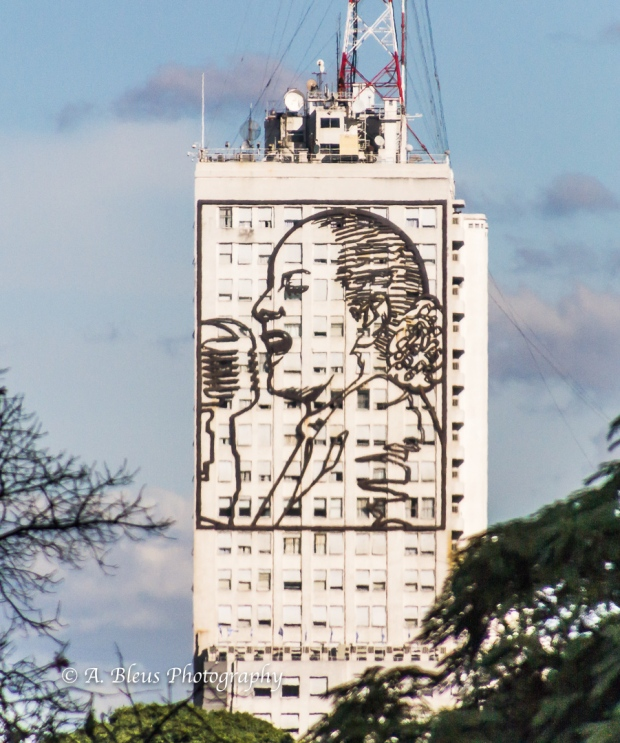 Eva Peron Portrait on Building MG_0589