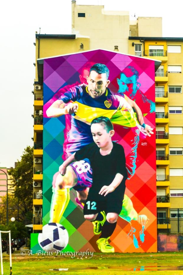Soccer Poster at La Boca, Buenos Aires MG_9996