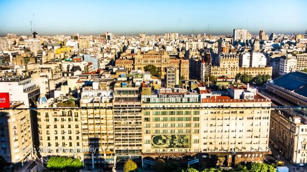 View of 9 de Julio Avenue Buenos Aires, Argentina DSC_04368-3