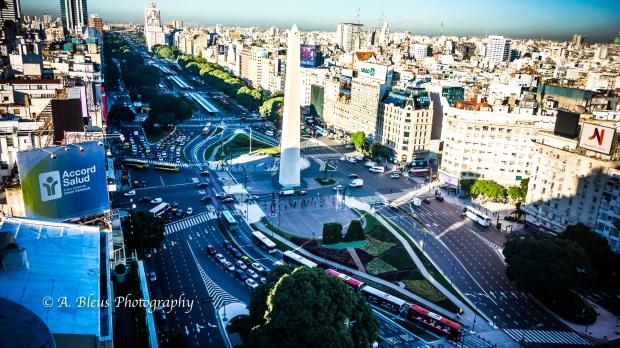 View of 9 de Julio Avenue Buenos Aires, Argentina DSC_04368-5