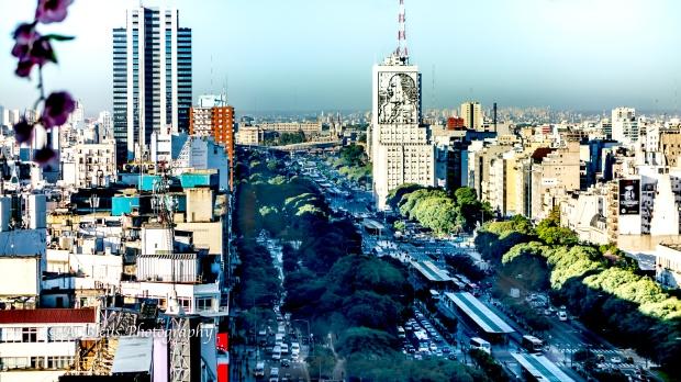 View of 9 de Julio Avenue Buenos Aires, Argentina DSC_04368-6