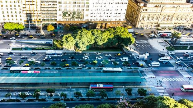 View of 9 de Julio Avenue Buenos Aires, Argentina DSC_04368-7