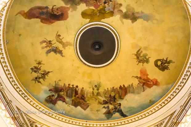Ceiling of El Ateneo, Buenos Aires