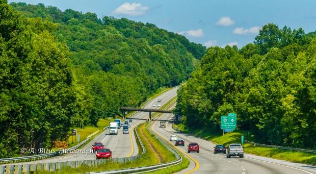 Driving the South Carolina Highway-3