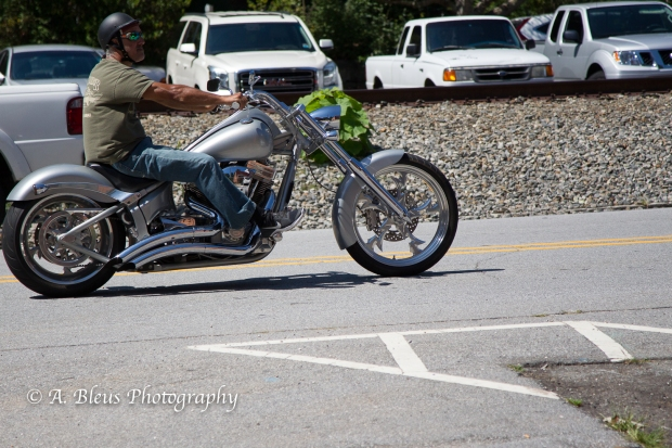 Riding in Downtown Saluda, North Carolina-93E0770-6