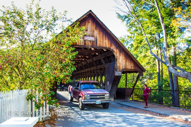 Covered Bridge- Woodstock, Vermont-93E1589-2