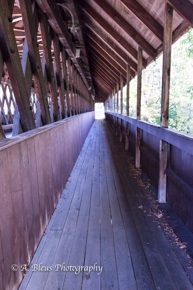 Covered Bridge- Woodstock, Vermont-93E1589-4