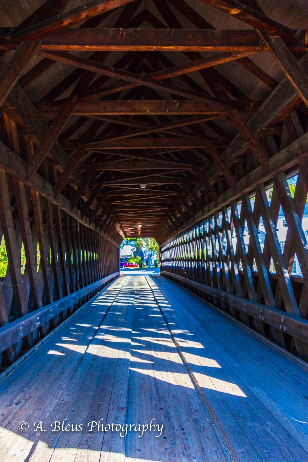 Covered Bridge- Woodstock, Vermont-93E1615