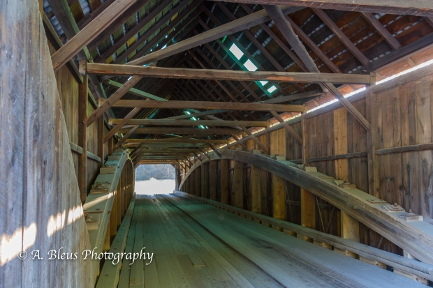 Lincoln Covered Bridge, West Woodstock, Vermont-93E1632-5