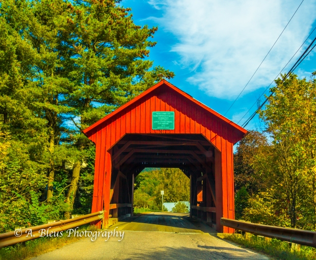 Lower Covered Bridge, Vermont-93E1845
