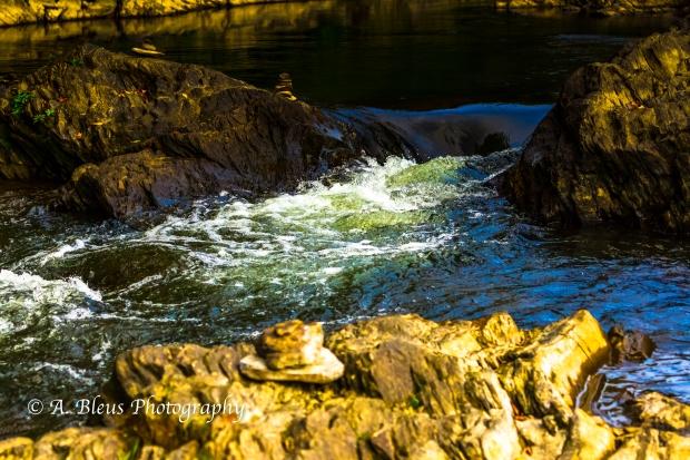 Ottauquechee River - Quechee Gorge, Vermont -93E1710-2