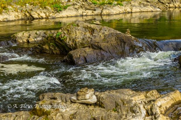 Ottauquechee River - Quechee Gorge, Vermont -93E1710-4