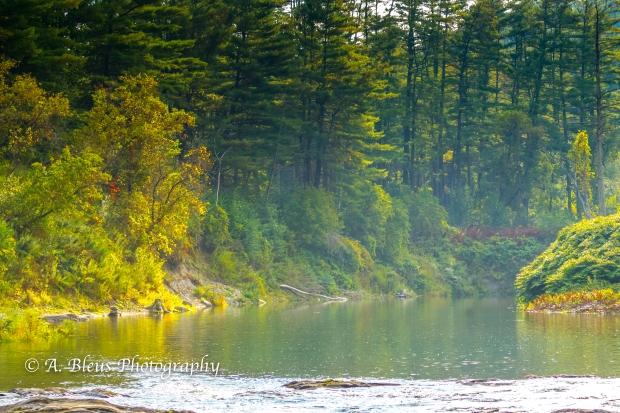 Ottauquechee River - Quechee Gorge, Vermont -93E1710-5