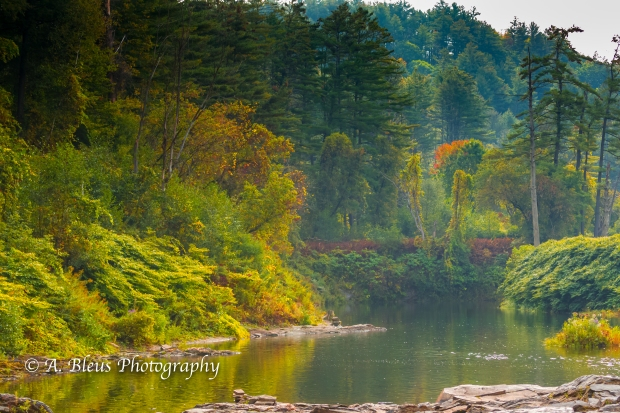 Ottauquechee River - Quechee Gorge, Vermont -93E1710